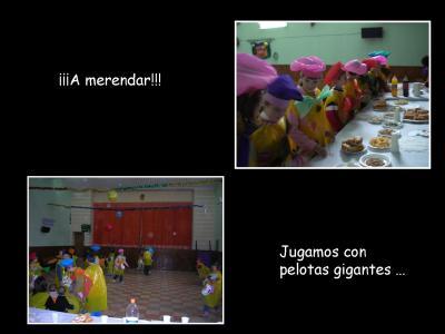 JUEGOS Y MERIENDA